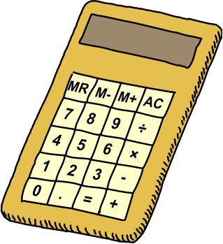 how to put an equal sign in a calculator